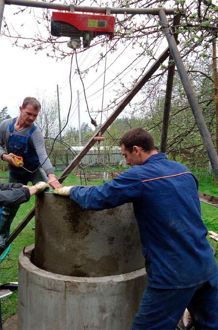 Как мы углубляем колодец в Уваровке