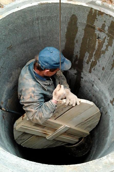 Как мы выполняем чистку колодца в Уваровке